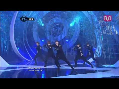 엠블랙_RUN(RUN by MBLAQ@Mcountdown_2012.03.01)