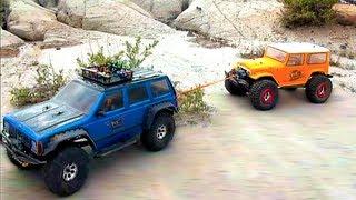RALLY RACE - Scale 4x4 Truck Challenge - Rude Boyz RC
