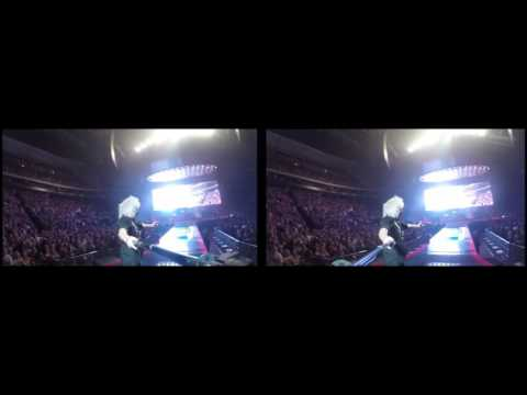 @DrBrianMay Selfie Stick Video |3D| Saint Paul, USA [July 14, 2017] Queen + Adam Lambert