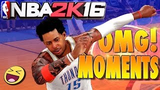 THE FUNNIEST, WTF, OMG! REACTIONS of NBA 2K16