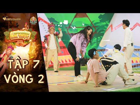 Thiên đường ẩm thực 6 | Tập 7 Vòng 2: Khương Dừa một mình cân team, Hùng Thuận ra sức ngăn bóng