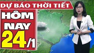 Dự báo thời tiết hôm nay mới nhất ngày 24/1/2021 | Dự báo thời tiết 3 ngày tới
