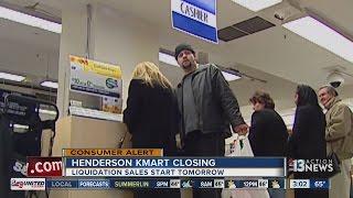 Sears closing Henderson Kmart store