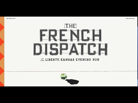 The French Dispatch'