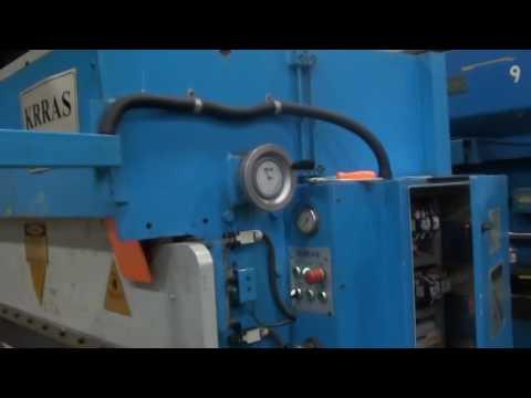 2006 KRRAS MODEL BEND 40.20 CNC PRESS BRAKE, 45 TON X 6'