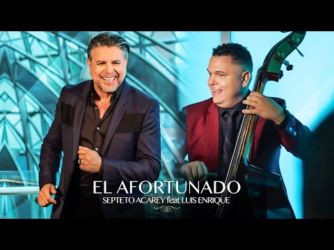 Septeto Acarey - El Afortunado ft. Luis Enrique ( Official Video)