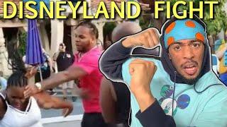 Fight at Disneyland Reaction | Y'all SHOULD BE ASHAMED! 🤬