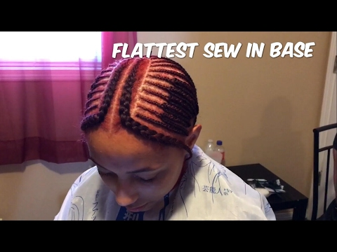 2 PART (VERSATILE) SEW IN BRAID PATTERN TUTORIAL (PART 1 ...