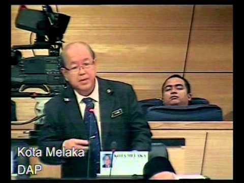 29 Nov 2012 - Pbhsn RUU Binatang (Pindaan) 2012 - DAP Kota Melaka