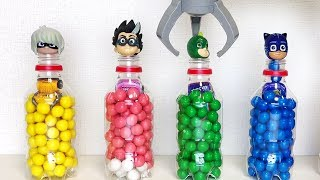 Pj Masks Beads Cups Balls Cars Surprise Toys, Learn Colors with Pj Masks Wrong Heads