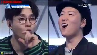 [PRODUCE101] DANCING KING & QUEEN - KIM SAMUEL & KIM CHUNGHA