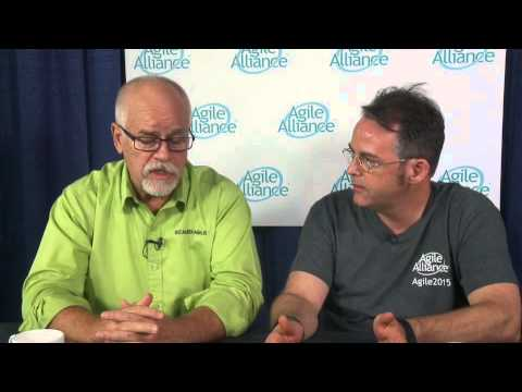 Agile2015 Video Podcast with  Dean Leffingwell & Dave Prior