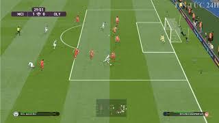 Kết quả bóng đá cúp C1 đêm qua rạng sáng nay Man City vs Olympiakos -Pes champions league 2020
