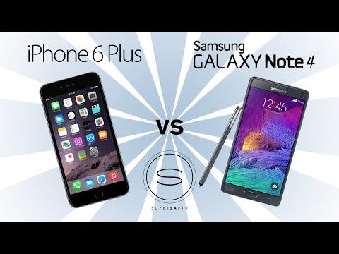 Baixar iPhone 6 Plus vs Samsung Galaxy Note 4