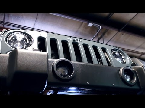 Model 6145 J & 6150 J Series - LED Off Road Fog Lights for Jeeps