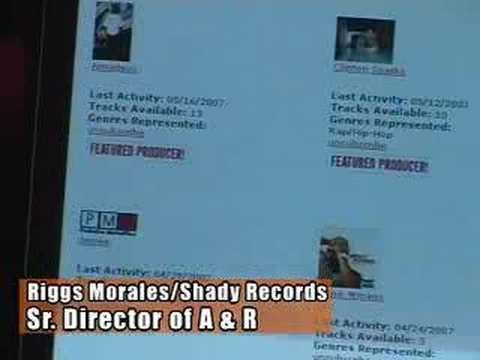 Repeat youtube video Selling beats on PMPWorldwide.com/Shady Records A&R Riggs Morales