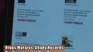 Repeat youtube video Riggs Morales, Shady Records A&R - Selling beats on PMPWorldwide.com