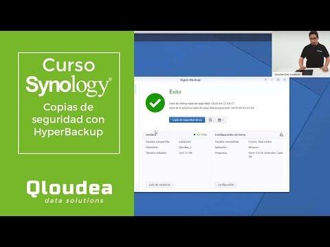 Clase de copias de seguridad con HyperBackup