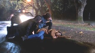 """Pretty Little Liars: The Perfectionists - Caitlin Gets Hit by a Car - 1x05 """"The Patchwork Girl"""""""