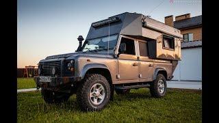 Автодом Land Rover Defender семьи Французовых  часть 1