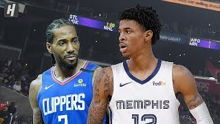 Memphis Grizzlies vs Los Angeles Clippers - Full Highlights | January 4, 2020 | 2019-20 NBA Season