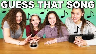 Guess That Song Challenge + BIG Announcement! (Haschak Sisters)