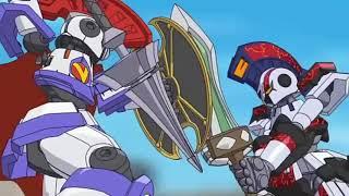 ダンボール戦機ウォーズ バン vs アラタ