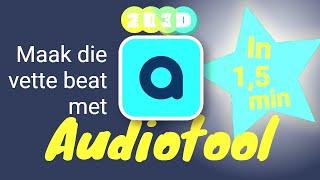 Audiotool in 1,5 min - muziek maken in je browser.