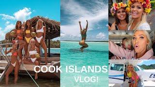 COOK ISLANDS TRAVEL VLOG! influencer trip