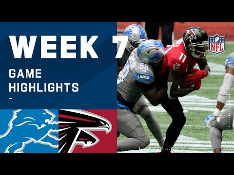 Lions vs. Falcons Week 7 Highlights | NFL 2020