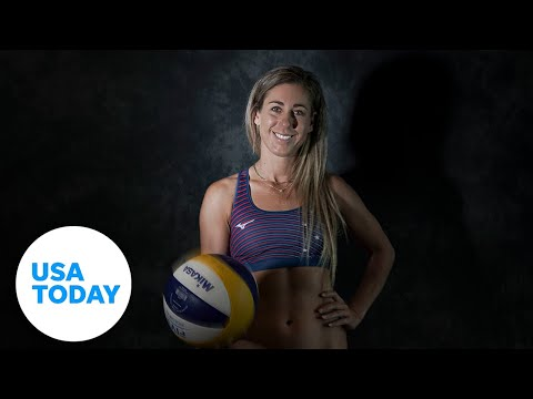 Beach volleyball player April Ross is seeking Olympic gold in Tokyo to complete her set | USA TODAY