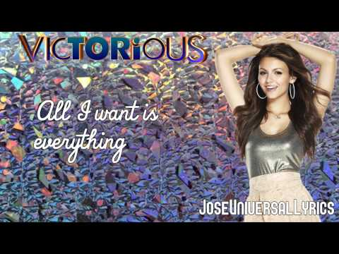 Baixar Victorious Cast - All I Want Is Everything ft. Victoria Justice (Lyrics On Screen