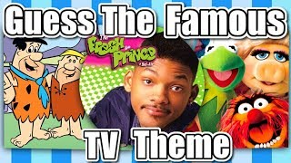 🤔GUESS THE FAMOUS TV THEME!!!🤔