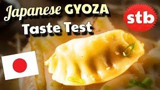 🇯🇵 GYOZA IN JAPAN || Japanese Food Taste Test 🇯🇵