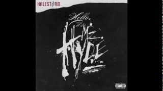 Halestorm - Here's to Us lyrics (Clean)