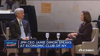 JP Morgan's Dimon says shutdown is negative for sentiment