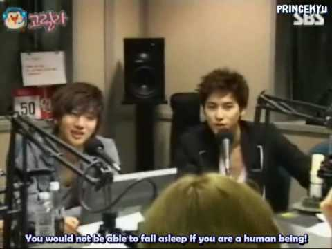 100518 Heechul's YS Radio - Kyuhyun Cuts (English Subbed)