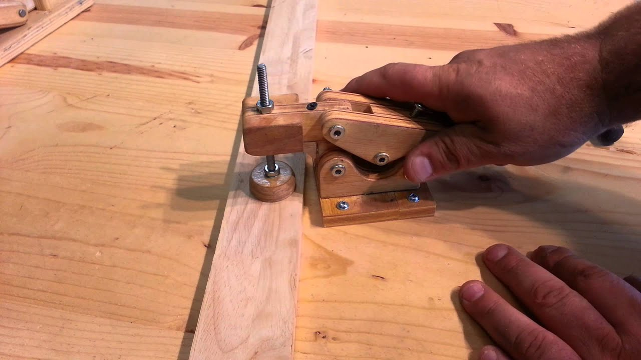 Woodworking Homemade Quot Hold Down Toggle Clamps Quot Youtube