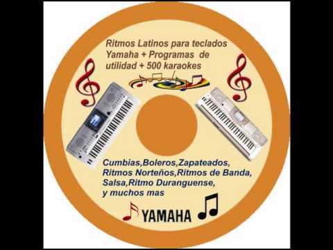 Ritmos Yamaha  (estilos) Para teclados Yamaha