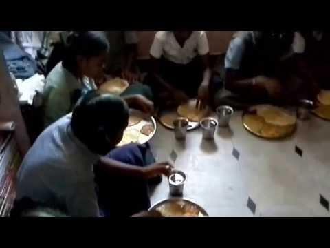 Providing breakfast to abandoned orphan children