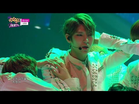 【TVPP】VIXX - Error, 빅스 - 에러 @ 2014 MVP Special, Show Music core Live