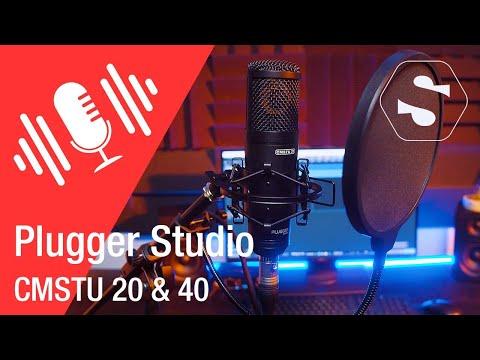 Vidéo Plugger Studio - CMSTU 20-40 Micro XLR statique pour chants et instruments - SonoVente.com