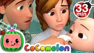 Sick Song | +More Nursery Rhymes & Kids Songs - CoCoMelon