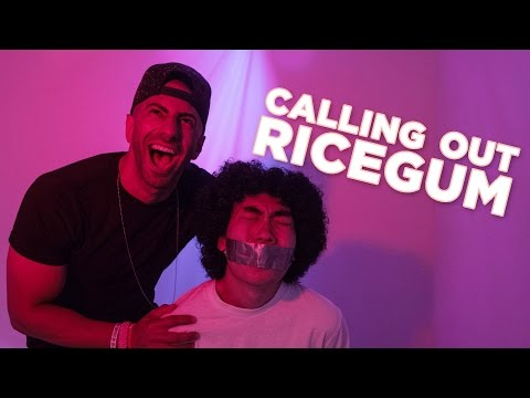 CALLING OUT RICEGUM!! Rap Battle!