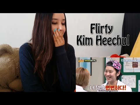 Flirty Kim Heechul _ REACTION