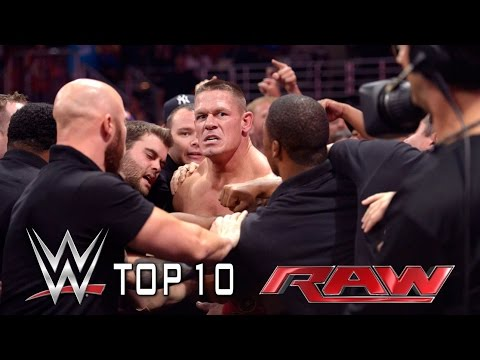 Top 10 Moments from this week's Raw - September 15, 2014