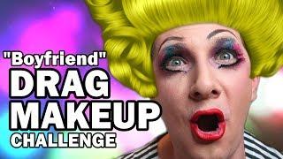 Drag Queen MakeUp Challenge - Man Vs MakeUp