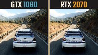 RTX 2070 vs. GTX 1080 (Test in 10 Games)