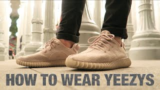 Wajeeh West | HOW TO WEAR YEEZYS