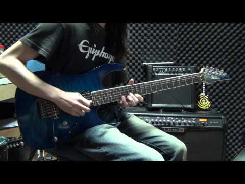 Beyond - 冷雨夜 live guitar cover by Eric Lo ( guitar version bass solo )